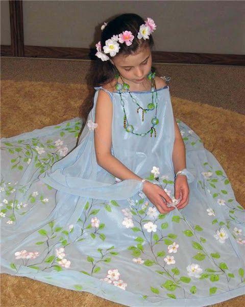 Костюм весны фото сделан своими руками   Платья, Платье ...