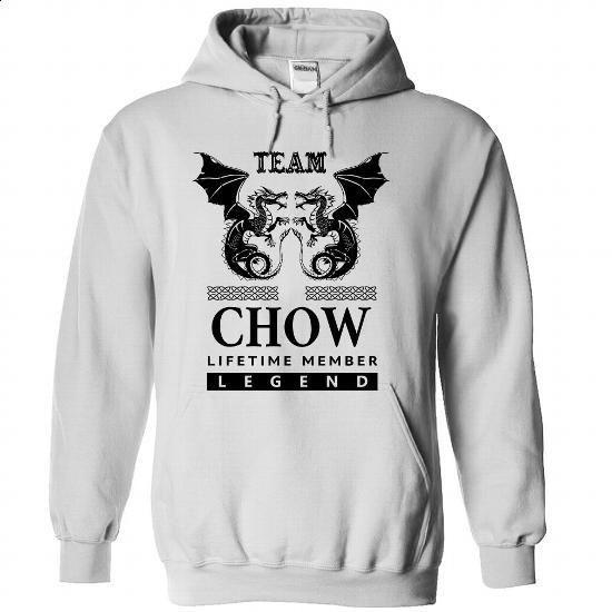 (Team0104) Team CHOW Lifetime Member - #tumblr tee #sweater women. PURCHASE NOW => https://www.sunfrog.com/Names/Team0104-Team-CHOW-Lifetime-Member-cchkfhukll-White-33187928-Hoodie.html?68278