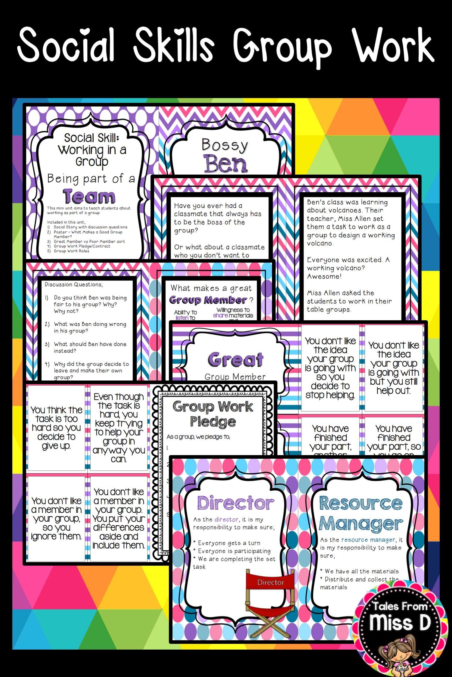 Social Skills Group Work