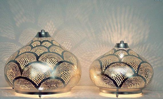 Arabische Messinglampe Arabisch Stehleuchte von CairoBazaar auf Etsy
