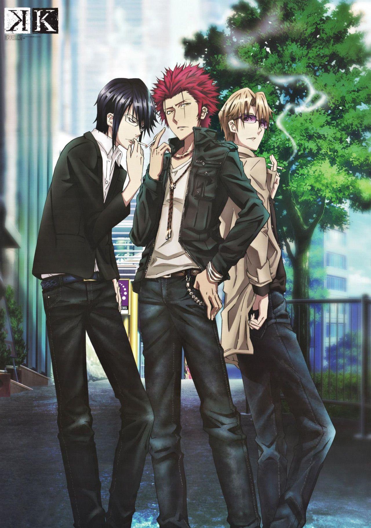 Munakata & Suoh & Kusanagi | K Project #anime | Cause Anime