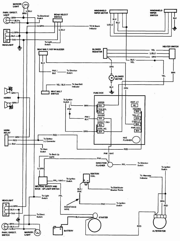 2000 chevy s10 wiring diagram in 2020  schaltplan jeep