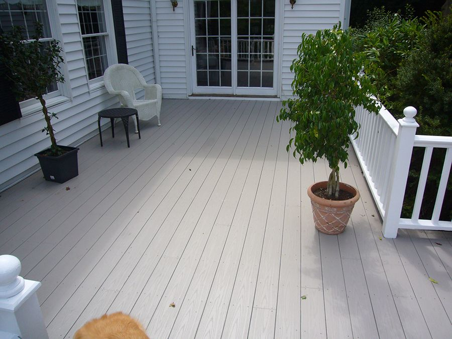 Best Way To Clean Grooves On A Trex Deck Lowes 4x4 Composite Deck