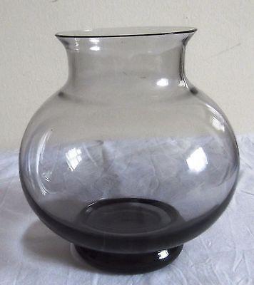 Vase Lead Crystal 1960s Wedgewood Designed By Frank Thrower