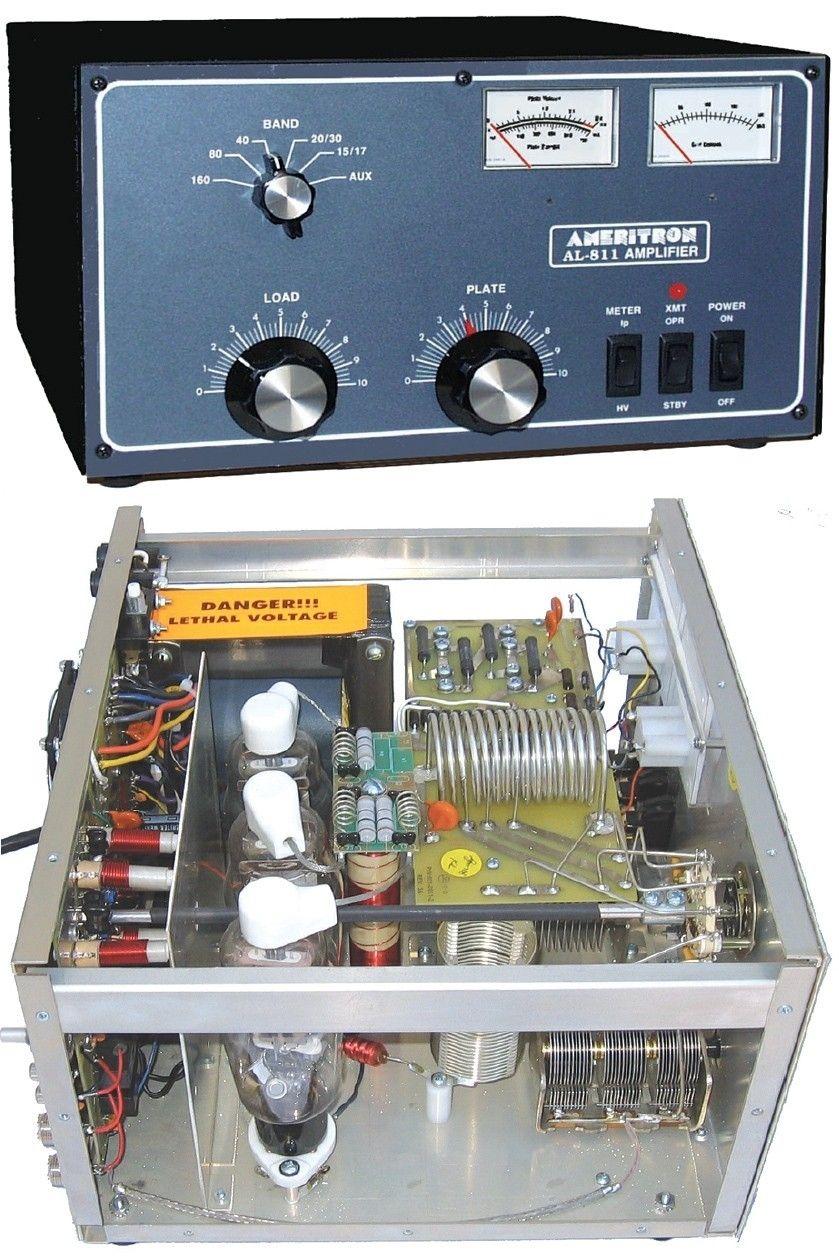 Ameritron AL-811 HF Amplifier, 600W, (3) 811A Tubes | Amateur Radio