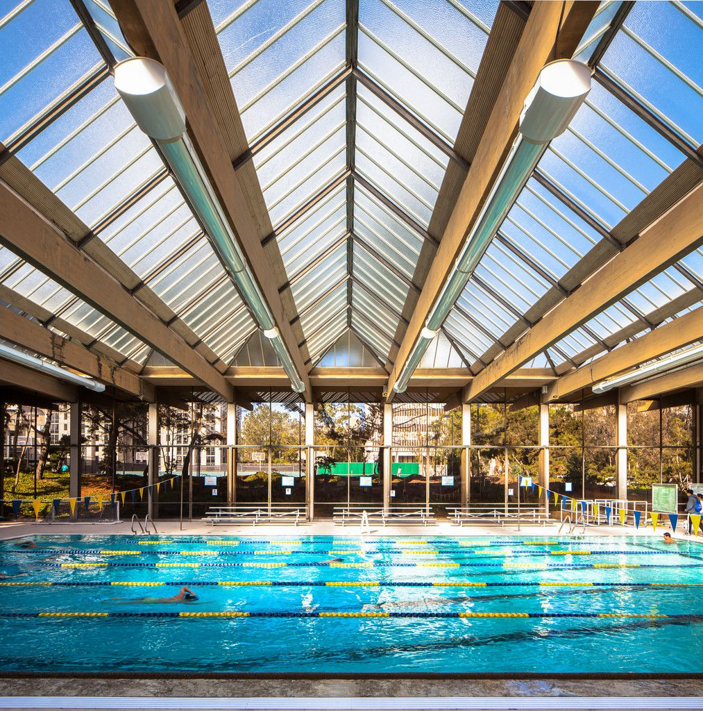 Gallery of ucsd a built history of modernism 4 - San diego state university swimming pool ...