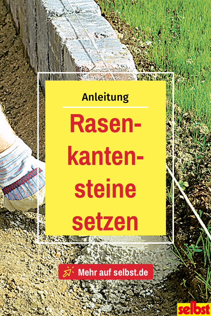 Rasenkantensteine Setzen Selbst De In 2020 Rasenkantensteine Kantensteine Rasenkanten