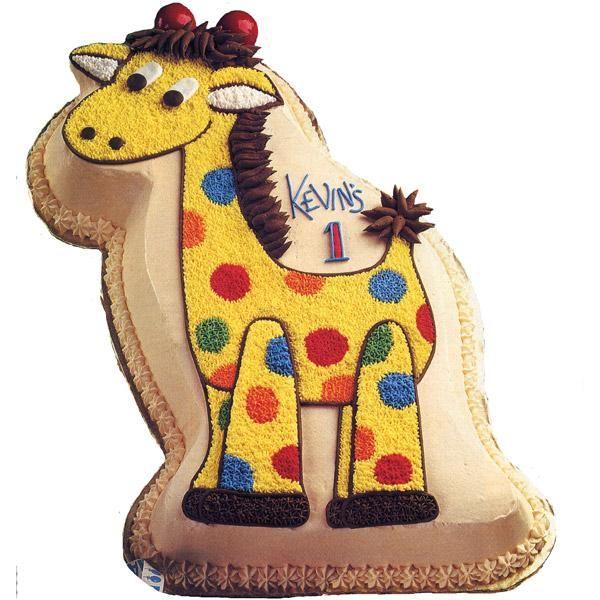 Giraffe Tall For His Age Cake httpwwwwiltoncomideaTallFor