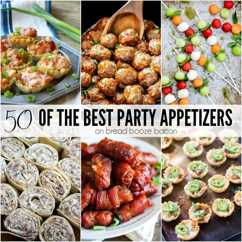 Wedding Foods Recipes: 50 Of The Best Party Appetizers