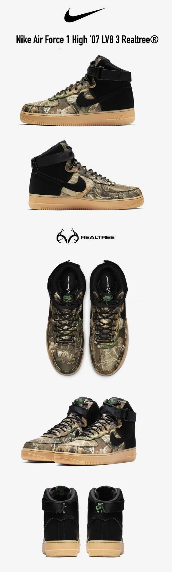 db1a73db6 Nike Air Force 1 High  07 LV8 3 Realtree® EDGE
