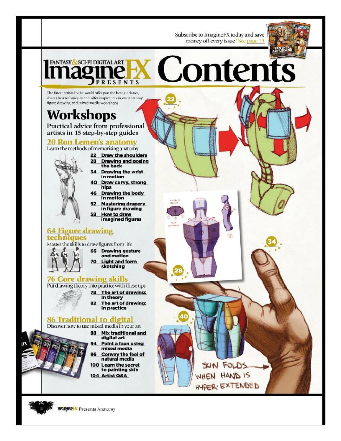 Imaginefx how to draw and paint anatomy vol 2 | Anatomía, Arte ...