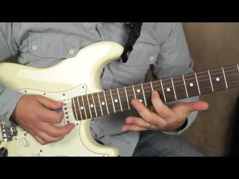 Albert King And Stevie Ray Vaughan Style Licks Lead Blues Guitar