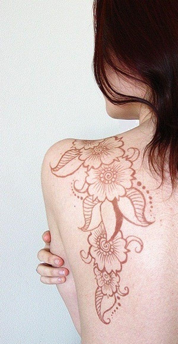 Brown Henna Tattoo: 65 Eye-Catching Brown Ink Tattoo Designs