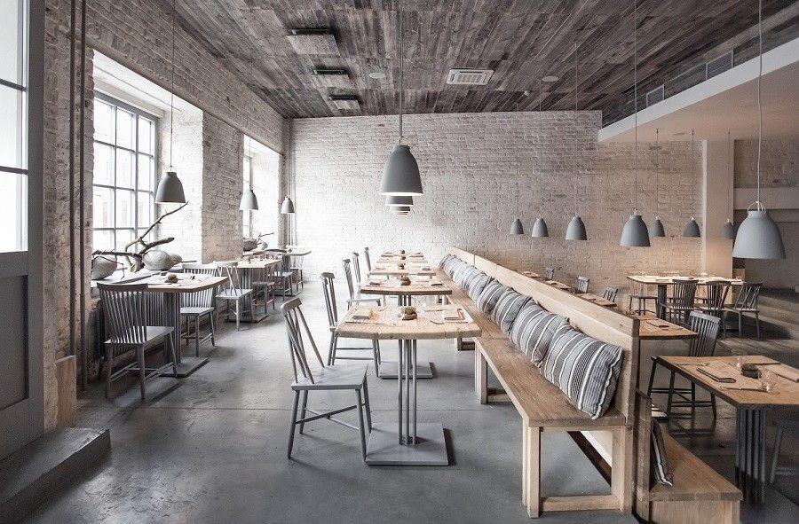 лофт дизайн кафе картинки - Поиск в Google | Столы в кафе ...