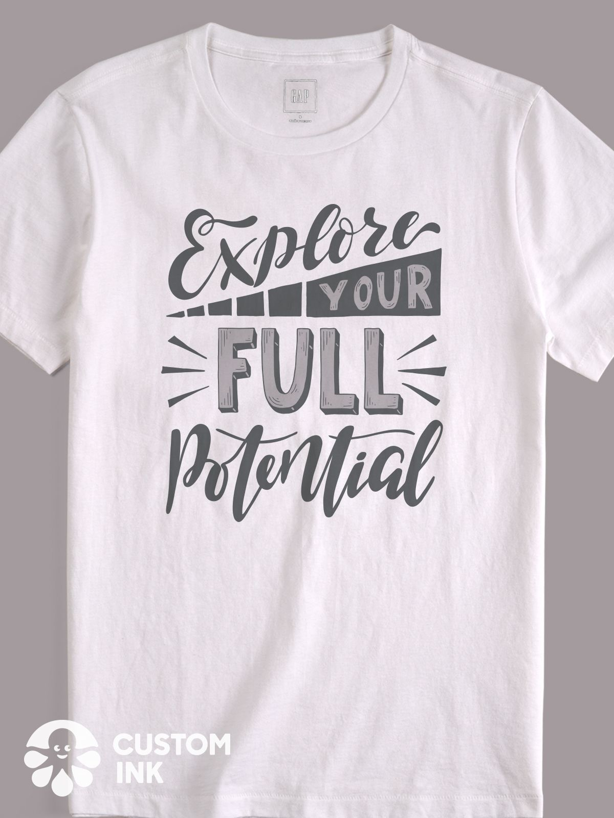 Explore Your Full Potential Is The Perfect Hand Lettered
