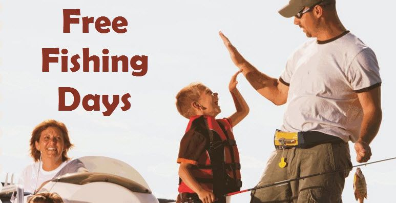2016 State Free Fishing Days - http://www.swaggrabber.com/?p=296986