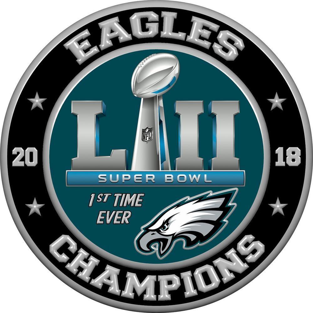 Philadelphia Eagles Super Bowl 52 2018 Champions 4dab2194d