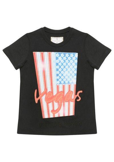 a9e0a6e54b Philipp Plein | 'Vegas' T-Shirt Black | This t-shirt comes with a ...
