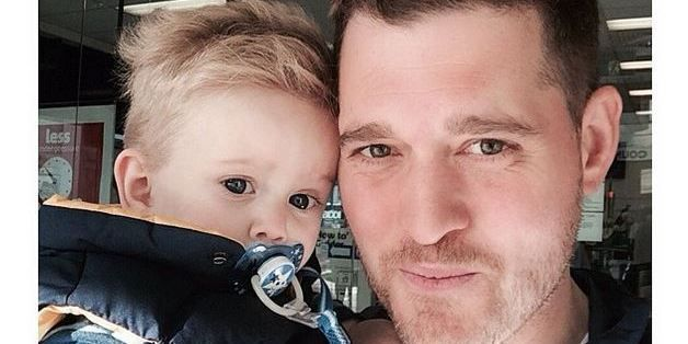 Michael Bublé's Son Recovering After Hot Water Accident