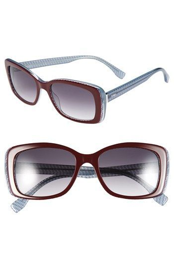 ac6b76f03270 Women s Fendi 53mm Retro Sunglasses - Blue Blaze