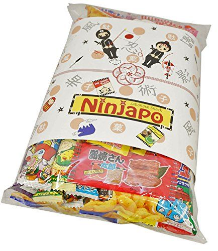 Assorted Japanese Junk Food Snacks Dagashi 46pcs Ninjapo Package Sweets Candy >>> Find out more about the great product at the image link.Note:It is affiliate link to Amazon.