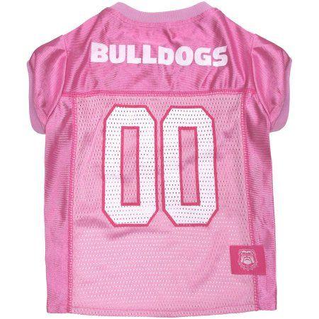 NCAA Georgia Bulldogs Mesh Dog Football Pet Jersey