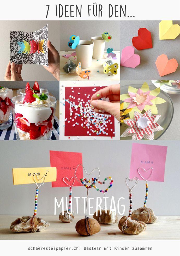 Diy Zwei Blumige Last Minute Ideen Zum Muttertag Alles Und Anderes
