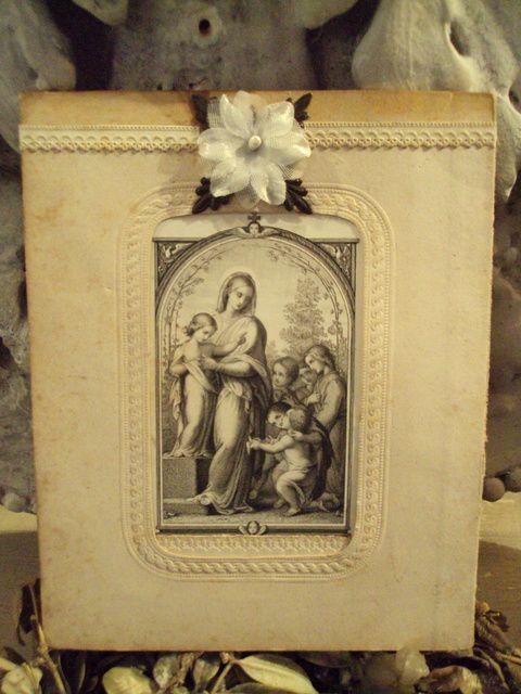 hand made by Domie ( brocante Villa saint Ange)