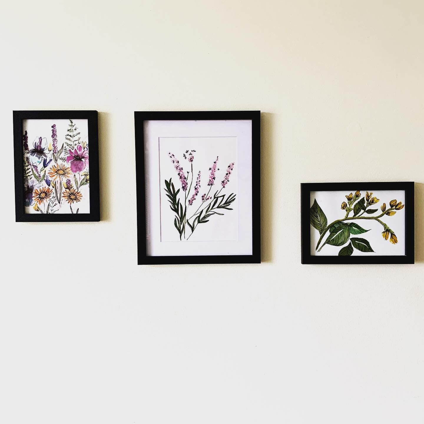 Framing some of my studies today ... trying to make the craft room a little more exciting 🌻 Will eventually have a gallery of work in here I think !  #watercolor #watercolour #watercolourpainting #watercolourillustration #illustration #etsyuk #etsyshop #etsy #floral #flowers #bunchofflowers #blossom #bloom #flower #flowersofinstagram #artistsoninstagram #art #artgallery #gallery #homedecor #home #myhome #lavender #flowerart #flowerdrawing #poppies #pansies #orchid #artoftheday #artofinstagram