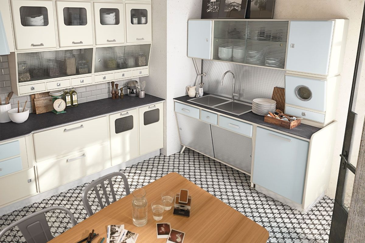 Marchi Group Fifties Style Kitchen Saint Louis L I V I N