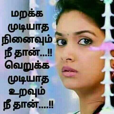 I Love U My Dear Tamizh Mamma Inaithu Vaitha Karuvi Yenre