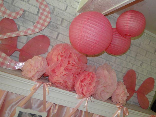 Decor at a Ballerina Party #ballerina #partydecor