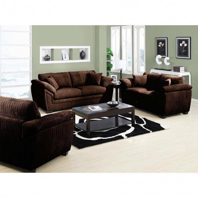 Emerald Chocolate Brown Sofa Set Brownlivingroom Brown Sofa Set Sofa Set Brown Walls Living Room