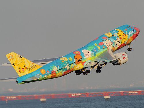 Pokemon Plane Insolite Voyage Japon Japon
