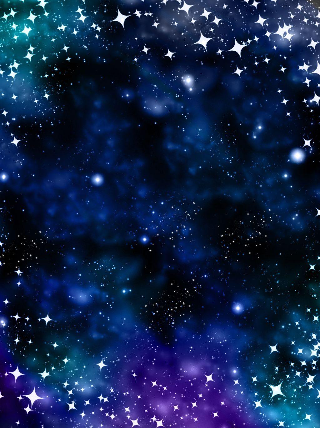 نقي حالمة الأزرق الأرجواني خلفية النجوم Blue Backgrounds Blue Background Images Galaxy Phone Wallpaper