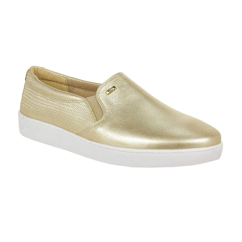 8ff9e70419e F33506 Zapato Mujer Flexi - Oro
