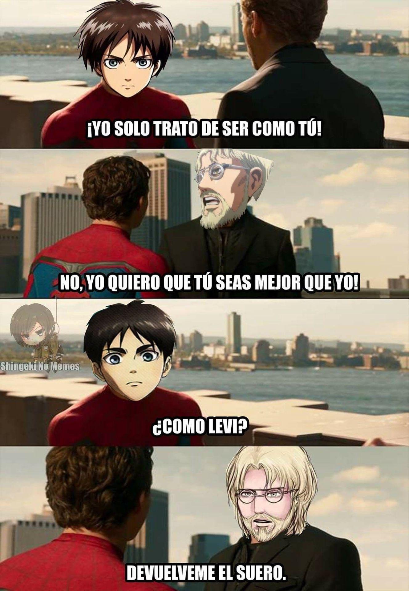 Memes Snk7w7 Shingeki No Kyojin Espanol Meme De Anime Memes Otakus