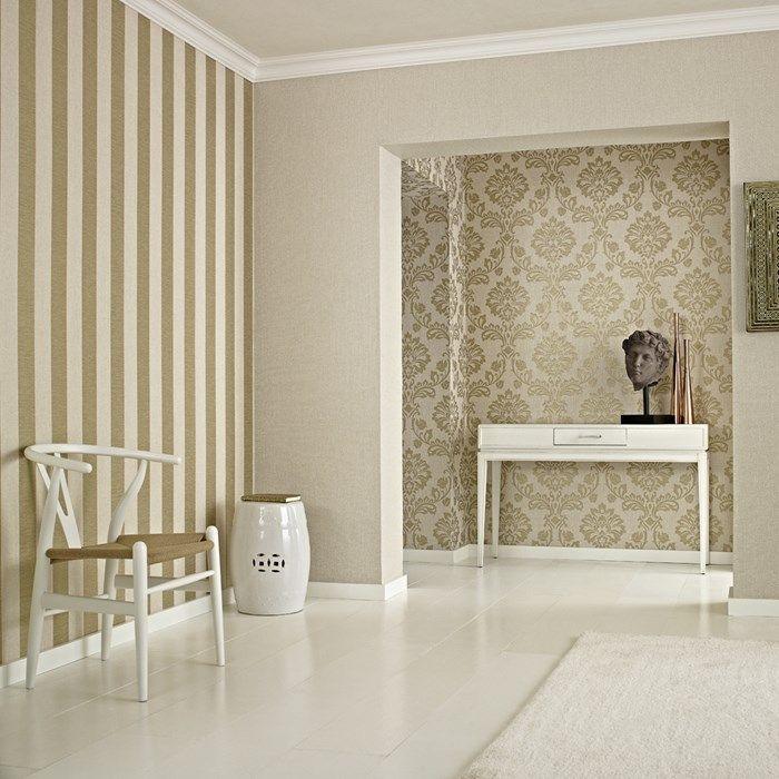 Aurora Beige Gold Gold Bedroom Decor Living Room Design Diy Living Room Diy #wall #coverings #for #living #room