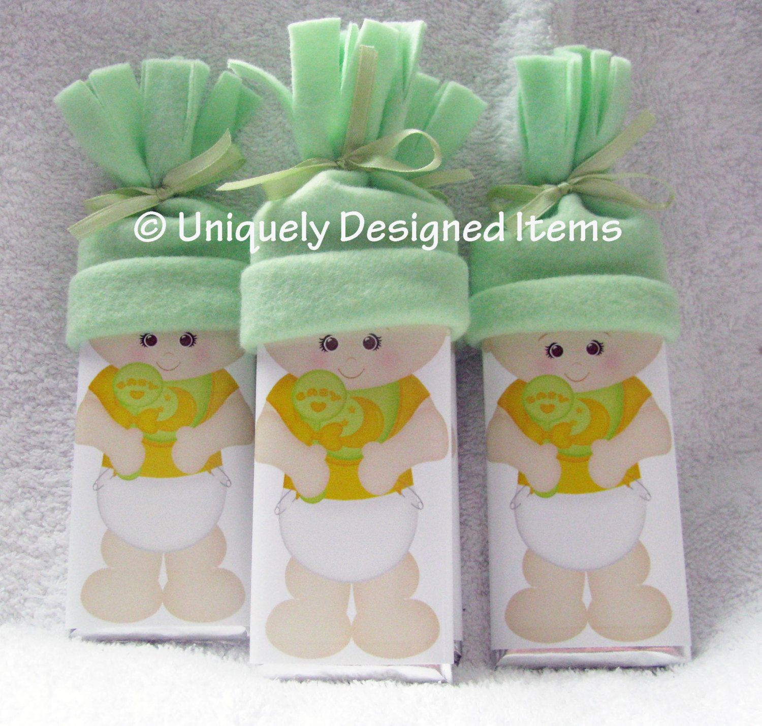 Baby Shower favors- is it a boy or girl? Nobody knows yet! by UniquelyDesigneditem on Etsy