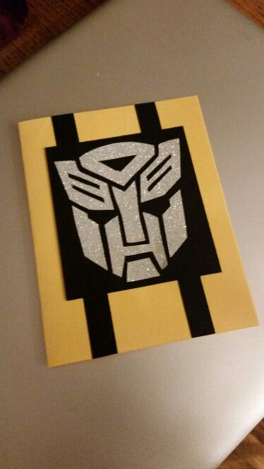 Transformer Birthday Card Bee Birthday Cards Transformer Birthday Cards
