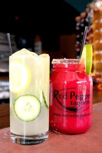 RP Spanky with serrano-infused tequila, muddled cucumber, agave and fresh lemon juice.