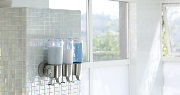 Simplehuman Shampoo And Soap Dispensers Simplehuman Sleek