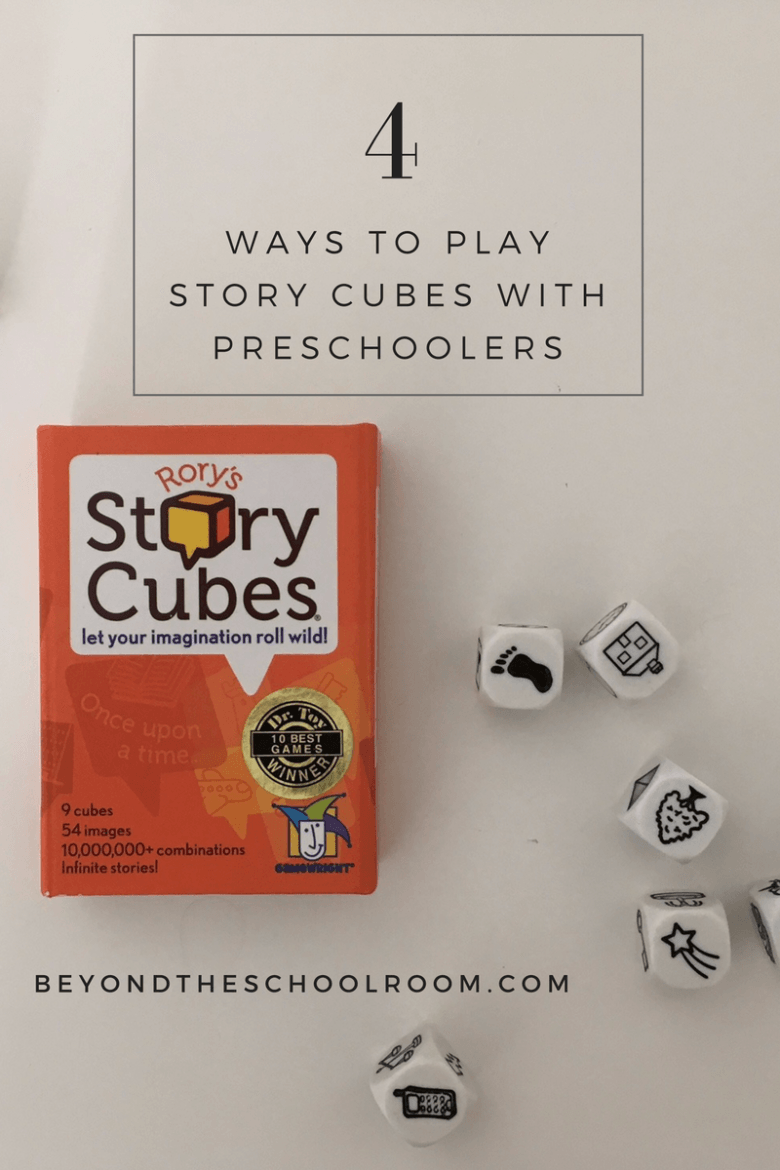 4 ways to play story cubes with preschoolers. These simple games ...