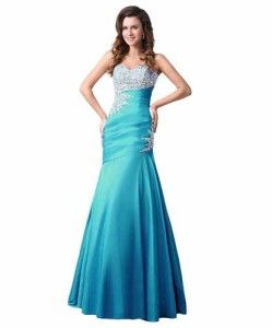 Size 20 22 24 26 Custom Made Plus Size Blue Prom Formal Mermaid