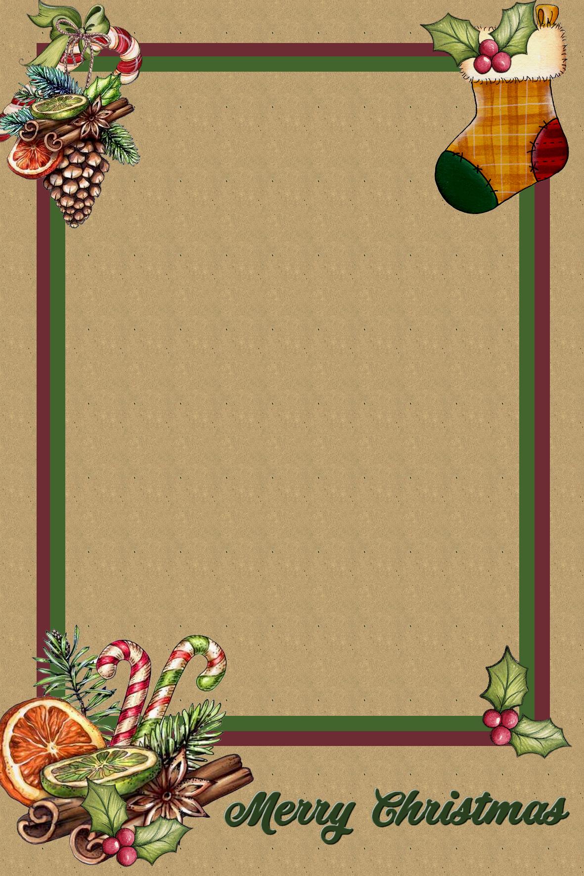 Merry Christmas Frame Png Happy Birthday Fun Christmas Magic Christmas Border