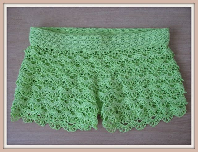 Festival de Shorts de Crochê   Josy Queiroz   shorts   Pinterest