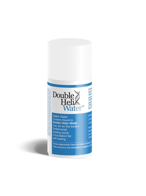 Double Helix Water® stable water clusters may help support the body's natural process of cell repair and injured tissues which become inflamed. It goes beyond hydration by increasing blood flow; allowing for more oxygen to be delivered to the cells.