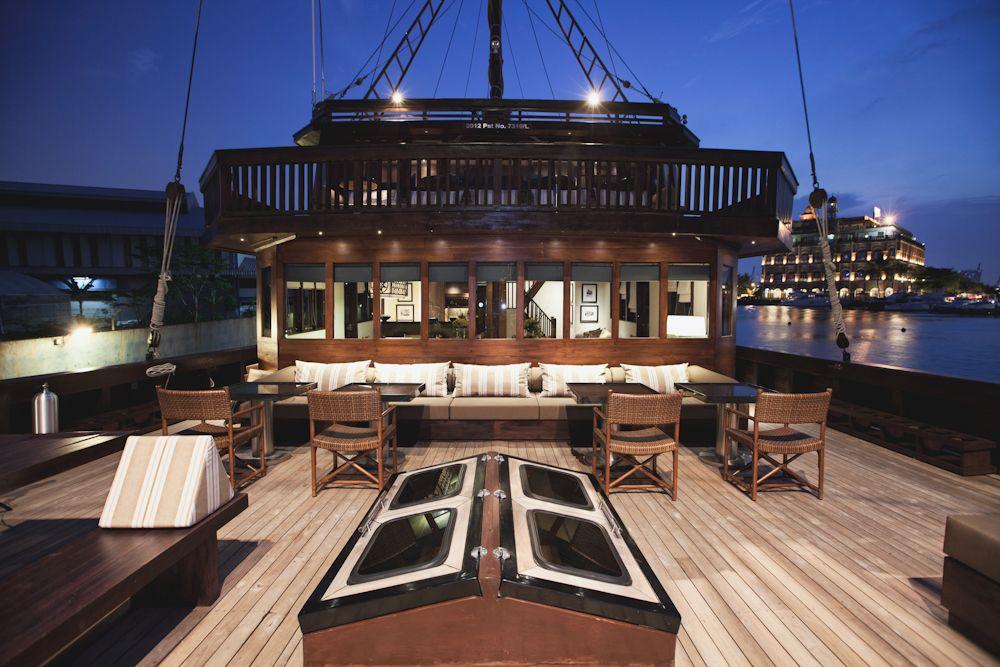 Luxus segelyacht holz  Sailing yacht ALILA PURNAMA - Indonesia Charter yacht | Large ...
