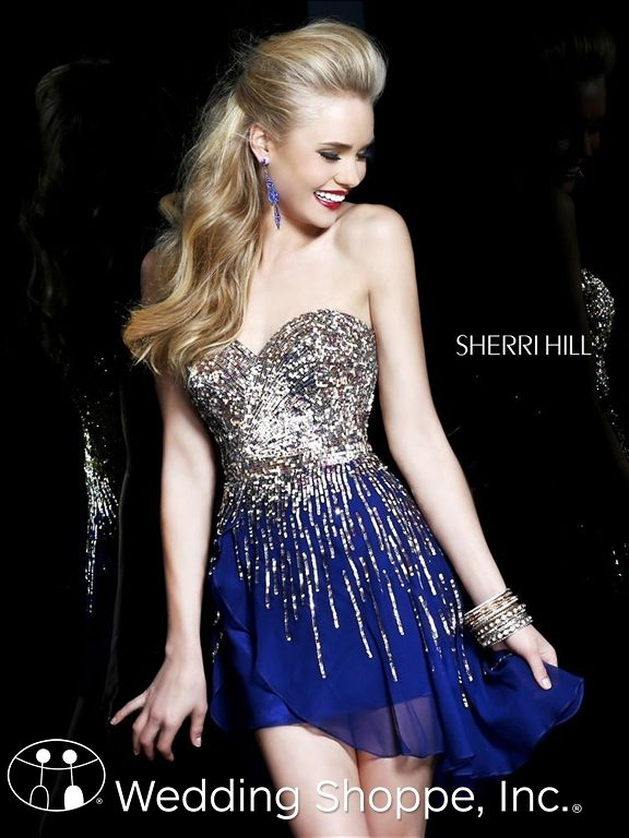 Short Sherri Hill Dresses for Your 2014 Prom! | things I want ...