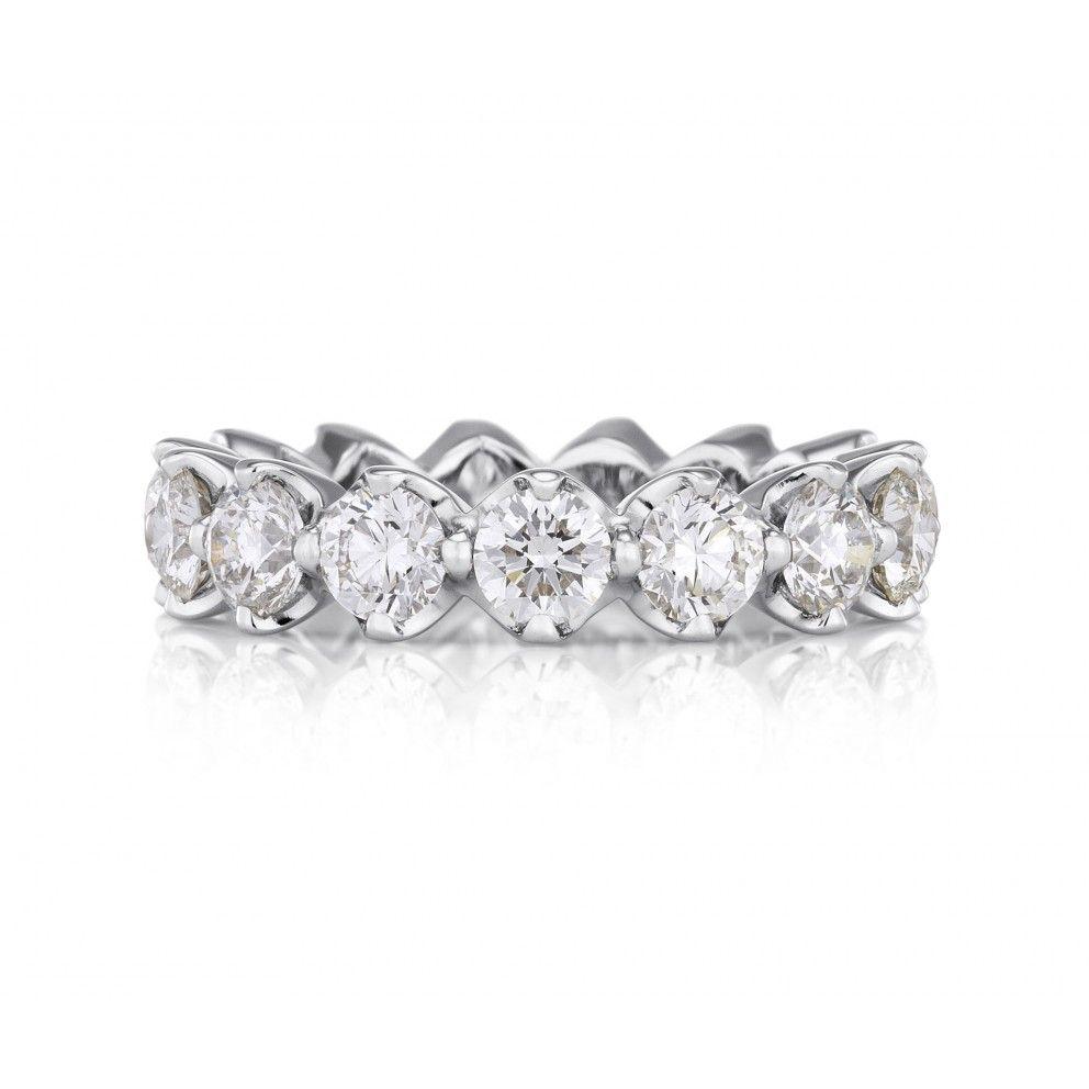 diseño de calidad 37a40 aec86 Allegria Eternity Band 0.25ct | Diamantes | Anillos de la ...